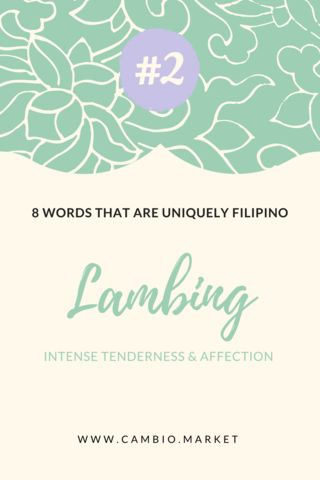 The Tagalog language is full of words that can't be captured in English. Here are just 8 words you should learn which are uniquely Filipino. Click the blog post to read more and discover the beautiful world of Philippines and Filipino fashion.