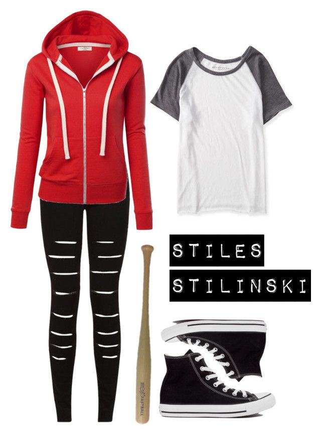 """Stiles Stilinski"" by boogerbrainz ❤ liked on Polyvore"