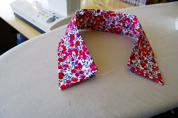 Are you ready to watch a new and exciting way of sewing a shirt collar? Here it comes! I used...