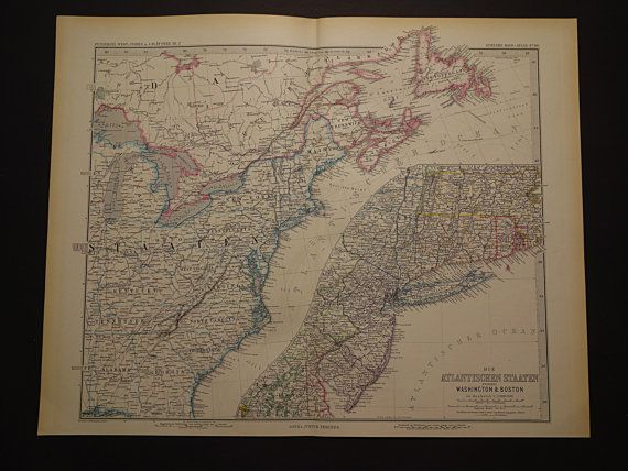 109 best Antique maps USA images on Pinterest Antique maps Old