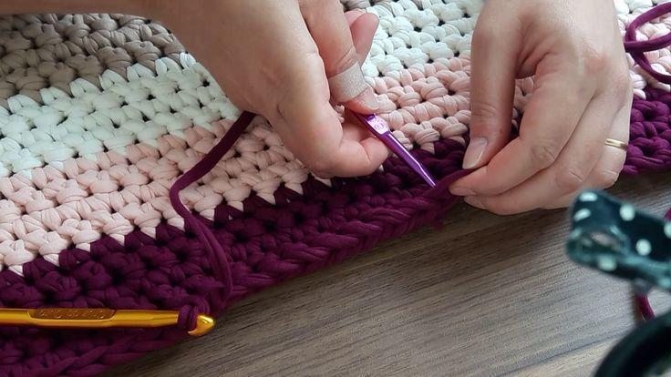 Como emendar fio de malha no crochê