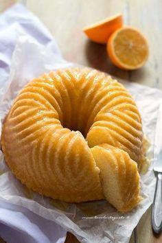 Ciambella all'arancia, soffice e profumata - orange cake - citrus cake
