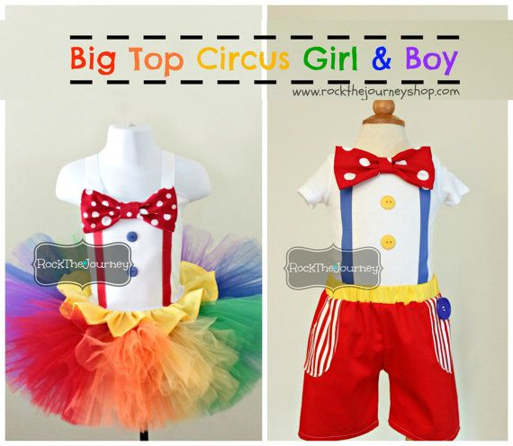 Boy Big Top Circus Birthday Party Boy Outfit por RockTheJourney