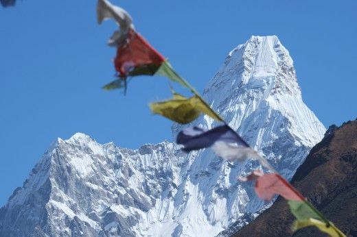 Ama Dablam... the Himalayas