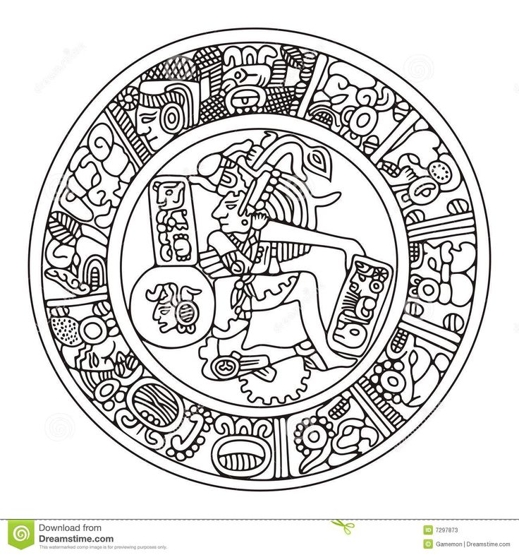 Mayan Artwork Stock Photos - Image: 7297873