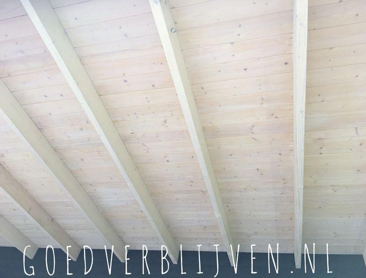 17 beste idee n over houten plafonds op pinterest houten plank plafond plankenplafond en - Verf een houten plafond ...