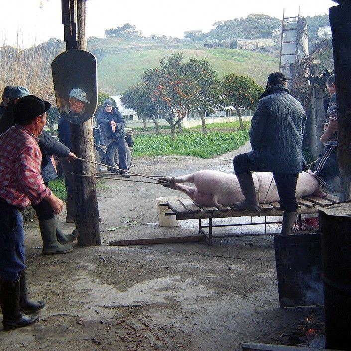 L'uccisione del Maiale. Un antico rito della tradizione contadina