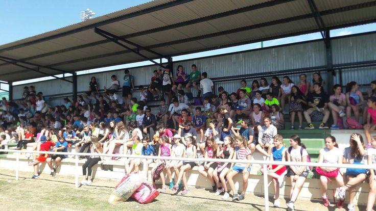Encuentro intercentros con los alumnos de los IES García Valdemora e IES Campiña Alta.