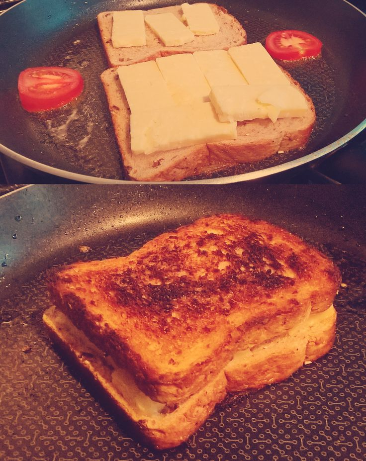 The Duke of Wellington. British granary bread British extra mature cheddar cheese with some British grown tomatoes. (Not 'toe-mate-ohs') on the side. #grilledcheese #food #yum #foodporn #cheese #sandwich #recipe #lunch #foodie