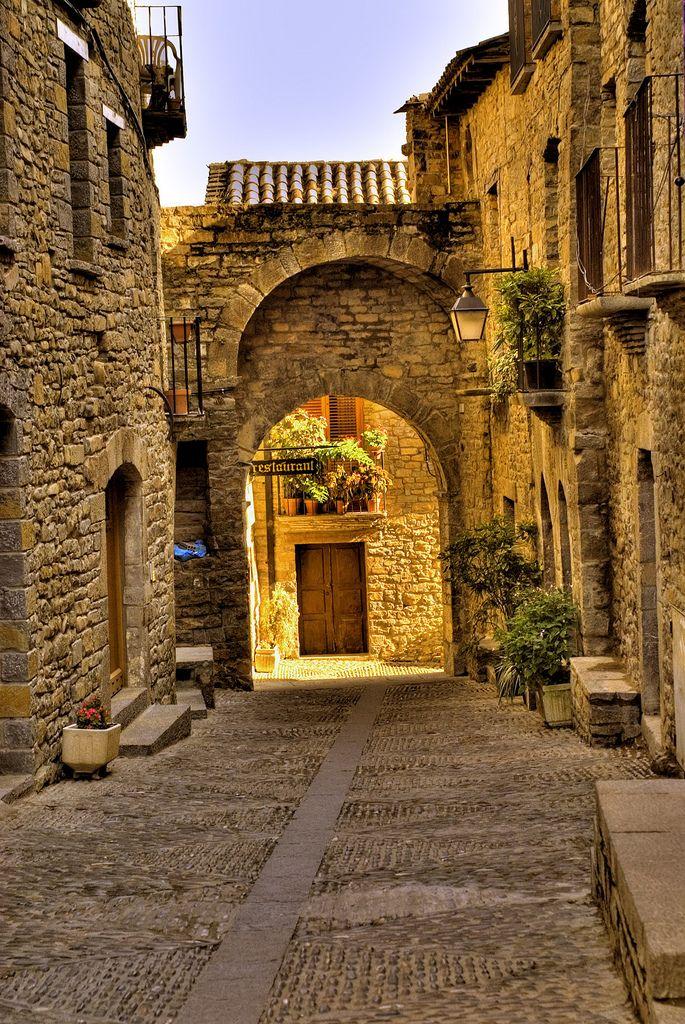 Ainsa, Huesca, Spain.