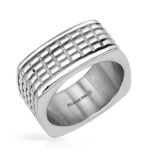 Gentlemens Band    Ring - Size 11    Irresistible gentlemens band ring stainless steel. Total item weight 14.2g . Size 11.