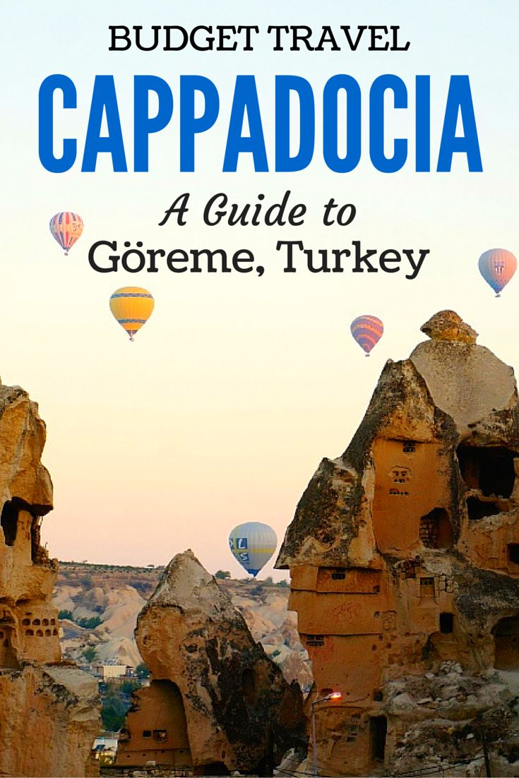 Top 5 Budget Friendly Things to Do Around Göreme in the town of Cappadocia, Turkey!