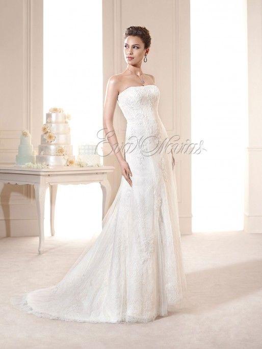 Vestido de novia Novia Dart modelo Niagara #vestidodenovia #boda #moda #novia2015 #madrid