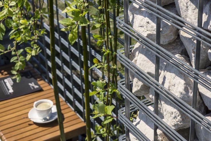 Gabion Fence / Progress Architecture Products  #gabion #fence #progressarch #progress #architektura