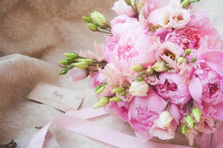 пион, пионы, свадебный букет, букет невесты, розовый, розовые пионы, эустома, пионы и эустома, лизиантус, нежный букет, классический, круглый, peon, peony, peonies, pink, eustoma, wedding bouquet, bridal, bouquet