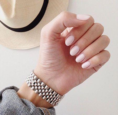 20 kurze ovale Nägel #Mandel #Mandelnägel – Short