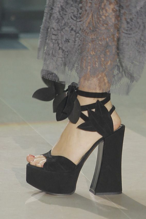 Look 051 shoes at Vivienne Westwood #SS14 Gold Label.