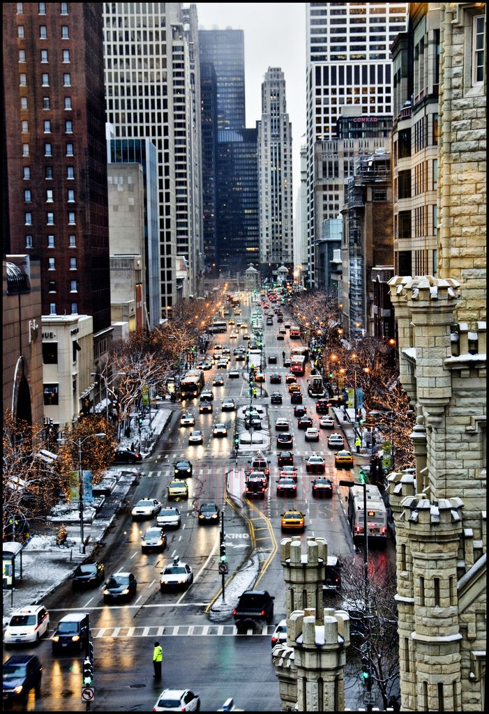 The Magnificent Mile Michigan Avenue Chicago