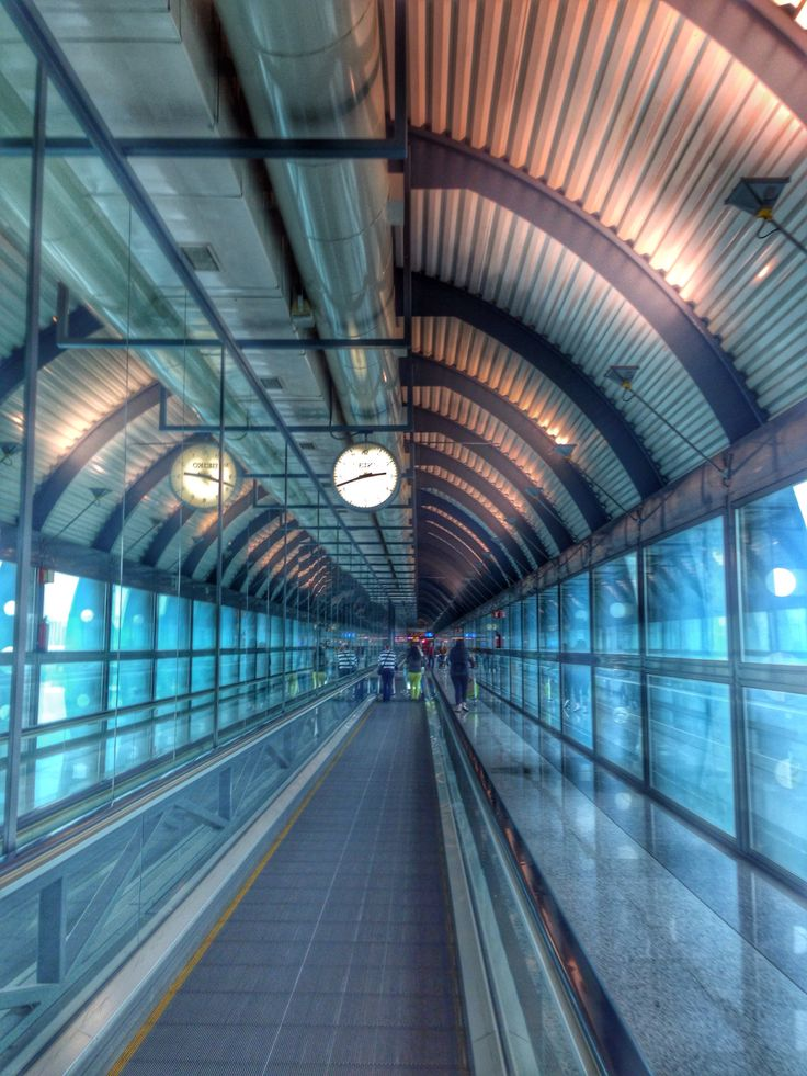 Madrid airport. Architecture trip :)