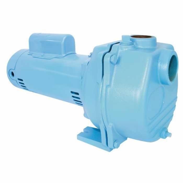 Little Giant 558295 1.5 Hp Lawn Sprinkler Manual Pump, 110v ~ 120v|208v ~ 240v