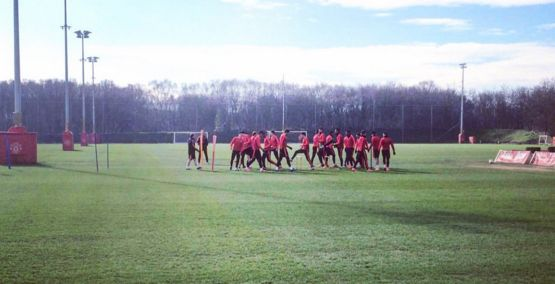 Mixed injury news for Manchester United in training pre Midtjylland