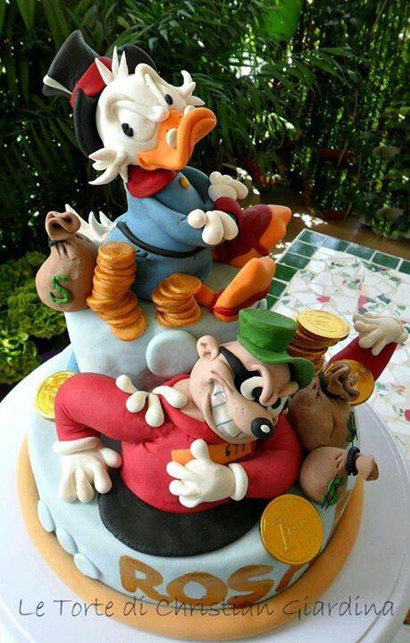 Va Be Cake Design Torino Orari : 17 migliori immagini su Paperino e co su Pinterest Torte ...