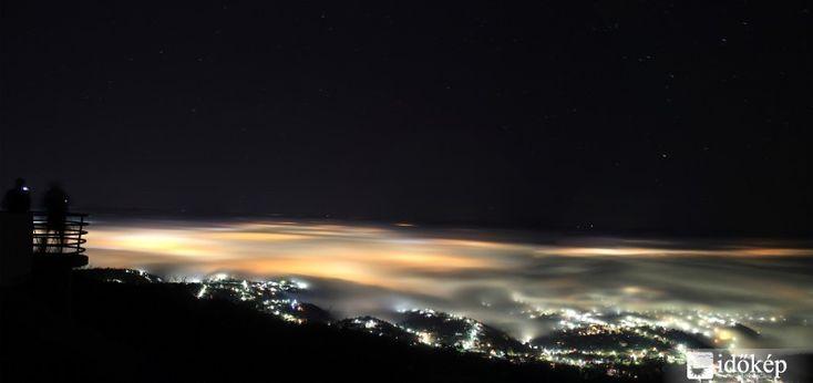 A ködtenger legszebb fotói Pécs