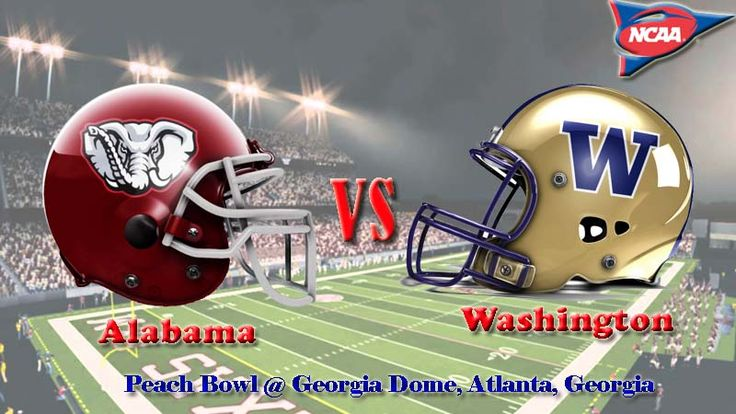 Washington vs. Alabama Peach Bowl TV schedule, game preview for College Football Playoff semifinal.