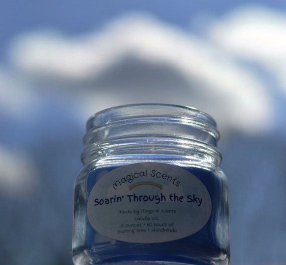 Soarin' Through the Sky -A Disney InspiredCandle  Scent~