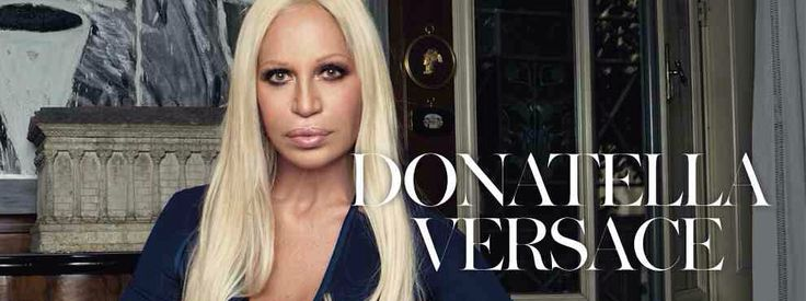 "Donatella Versace Fashion designer Donatella Versace is an Italian fashion designer and current Vice President of the Versace Group, as well as its chief designer. She owns 20% of its entire stock market assets.   Born: May 2, 1955 (age 59), Reggio Calabria, Italy Height: 5' 5"" (1.65 m) Spouse: Paul Beck (m. 1987) Children: Allegra Versace, Daniel Versace Siblings: Gianni Versace, Santo Versace, Tina Versace Parents: Antonio Versace, Francesca Versace"