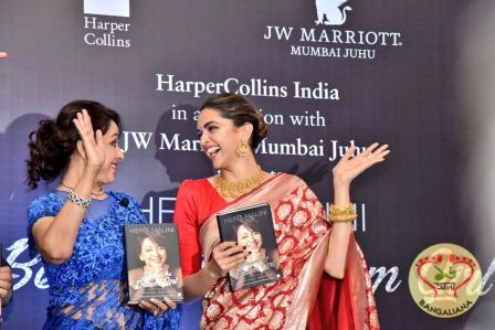 Beyond the Dream Girl- an authorized biography by Ram Kamal Mukherjee with a foreword by Prime Minister Narendra Modi was launched by Deepika Padukone.
