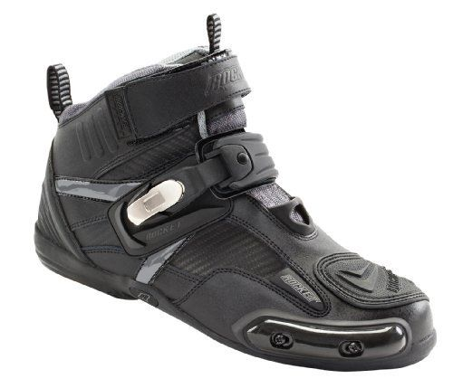 Joe Rocket Atomic Men's Motorcycle Riding Boots/shoes (black/grey, Size 9) http://www.motorcyclegoods.com/top-18-best-riding-shoes/
