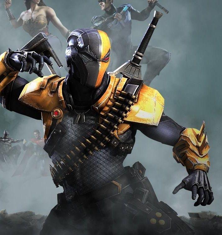 deathstroke helmet injustice - photo #27
