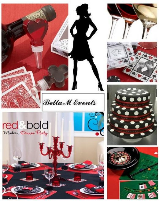 Casino Party | BELLA M EVENTS CASINO DINNER PARTY