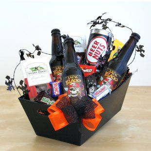 Jack Black's Root Beer & Snacks Halloween Gift Basket