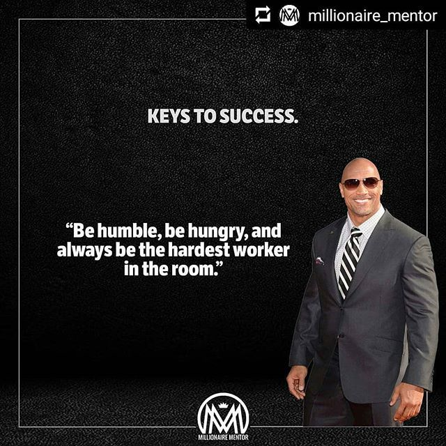 Kunci Kesuksesan Dwayne Johnson Therock Be Humble Be Hungry