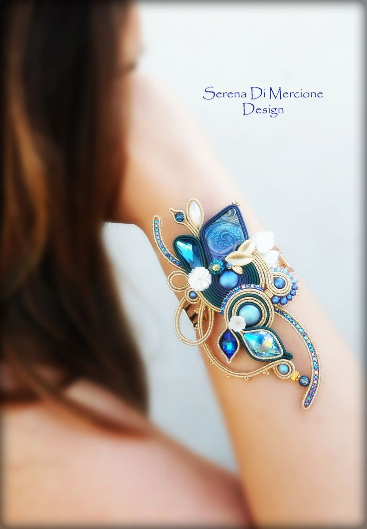 Soutache Bracelet by serena Di Mercione