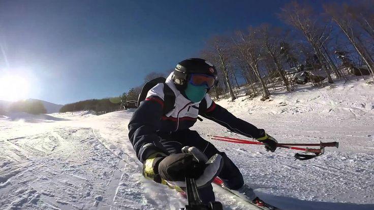 GoPro Hero4 Black: Skiing with Sun