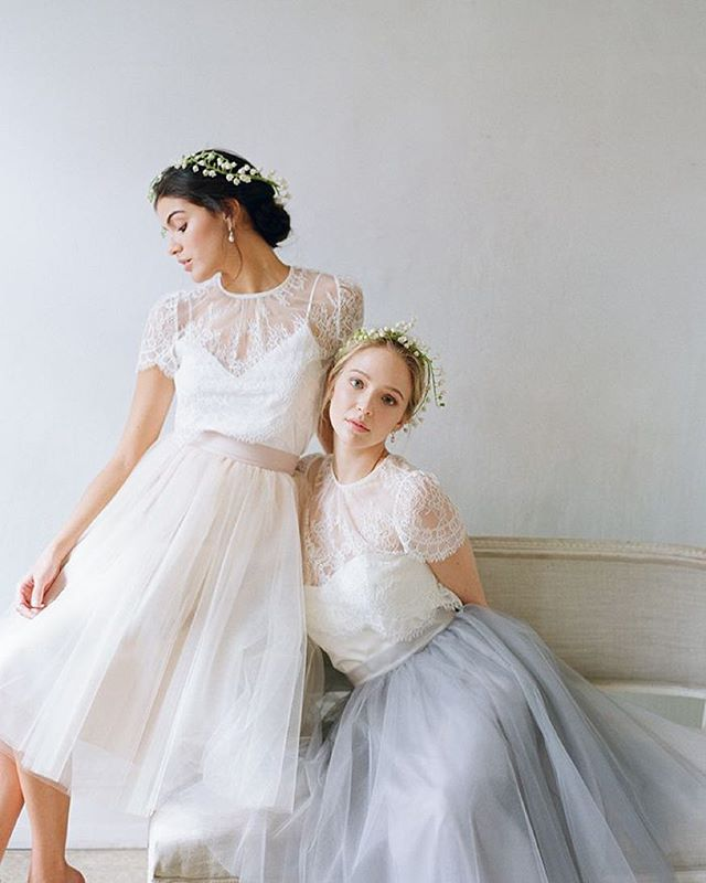 Другие свадебные платья! Нежные, легкие, романтичные. Bridal Fashion by Alexandra Grecco #weddingatelier #свадебноеагенство #организаторсвадеб