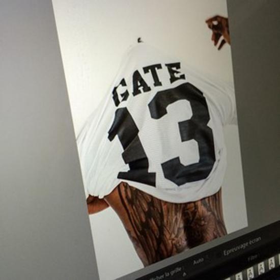 Το μπλουζάκι του Djibril Cissé για την «Θύρα-13» #panathinaikos