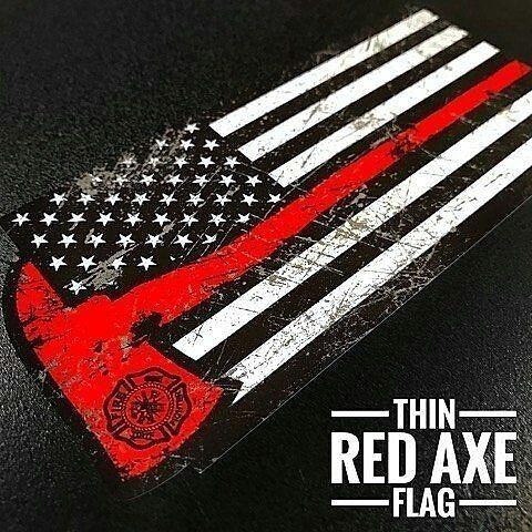 "390 Likes, 2 Comments - Chief Miller ™ (@chief_miller) on Instagram: ""GET ONE NOW! Thin Red Line Flag Decals www.chiefmillerapparel.com . . . . . #firetruck…"""