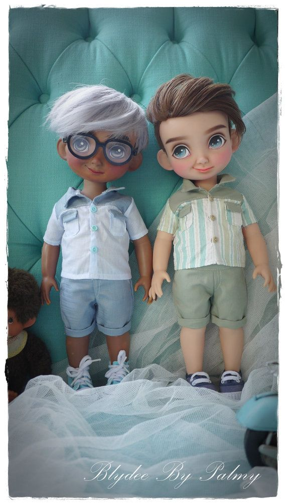 Disney Animators/ The boy Green&Blue by Blydee1 on Etsy