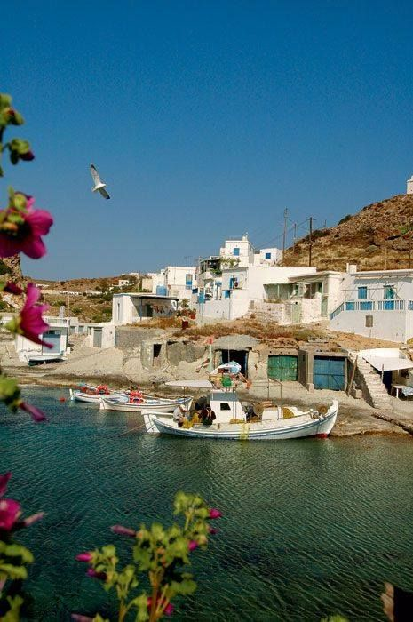 You can find some little get-a-way places in Greece. Can't you just feel the tan? #archaeologous.com for your tour info of Greece. #Kimolos~ #Greece