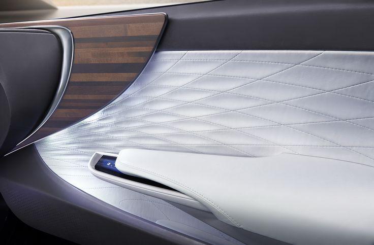 Hydrogen-Powered Lexus LF-FC Concept Previews Next-Gen LS Flagship Sedan