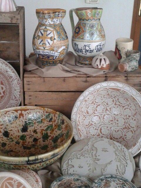 I miei lavori di ceramica