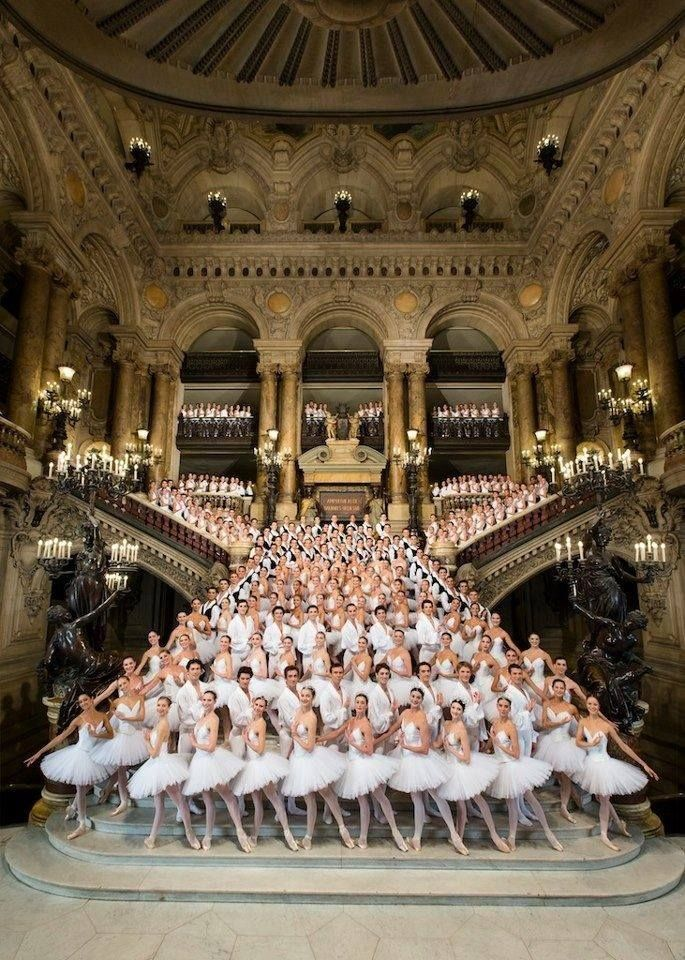 Palais Garnier Ballet. Paris, France