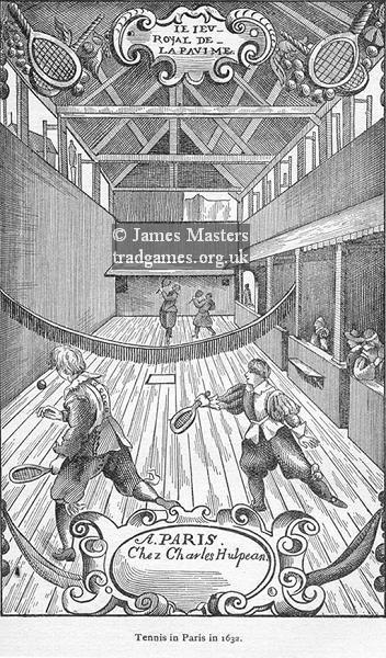 Tennis in Paris 1632