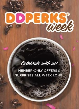 Dunkin Donuts: Free $5 credit for new DD Perks members!