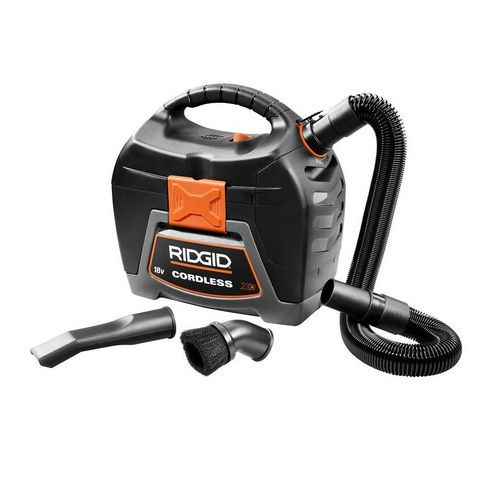 Ridgid 18-Volt 3-Gal. Cordless Wet/Dry Portable Shop Vacuum Cleaner (Bare Tool) #RIDGID