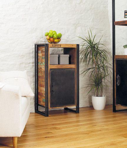 Beautiful Reclaimed Urban Chic Side Cupboard - Shop Now. – Chattels